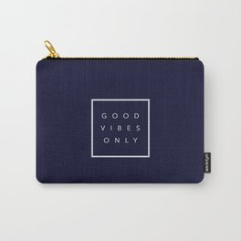 Good vibes only new shirt art vibe love cute hot 2018 style fashion sticker iphone cover case skin m Carry-All Pouch
