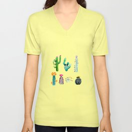 A Prickly Bunch Unisex V-Neck