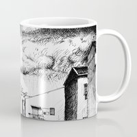 buildings Mugs featuring Buildings by Giuseppe Vassallo