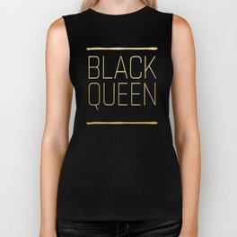 Black Queen Biker Tank