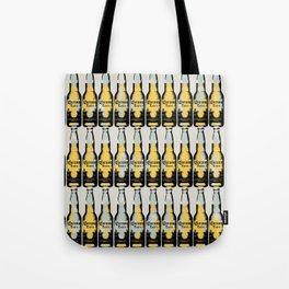Corona beer pattern pop art illustration Tote Bag