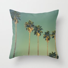 Hollywood Summer Throw Pillow