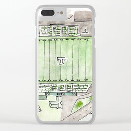 Trinity High School Football Field, Louisville, KY #gift Clear iPhone Case