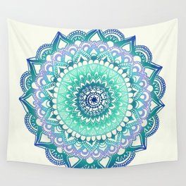 Deep Forest Flower Wall Tapestry