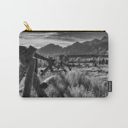 Buck and Rail to the Tetons Carry-All Pouch