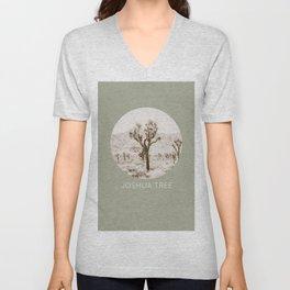 JOSHUA TREE / California Desert Unisex V-Neck