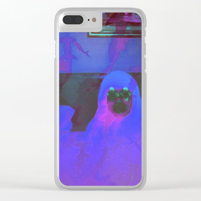 Purple Drank Clear iPhone Case