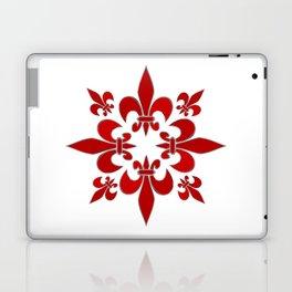 Fleur de Lis pattern Laptop & iPad Skin