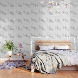 Single Line Magnolia Wallpaper