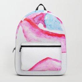 Neon Lolli Lips Backpack