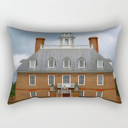 Governers Palace Colonial Williamsburg Rectangular Pillow