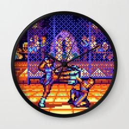 Chun Li vs. Vega Wall Clock