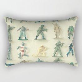 Broken Army Rectangular Pillow