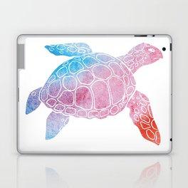 Watercolor Sea Tu Laptop & iPad Skin