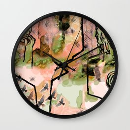 Separation Wall Clock