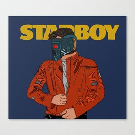 Im a mother*!%#@ Star-Lord Canvas Print