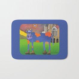 Udderly Frank - Funny Cow Art Bath Mat