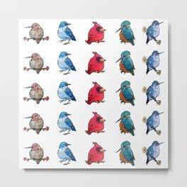L'il Lard Butts - all the fat birds Metal Print