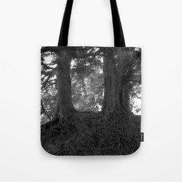 Wizard Trees, Avebury England c1999 Tote Bag