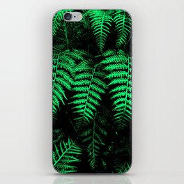 Emerald Triplets iPhone Skin