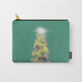 Happy Christmas Tree Carry-All Pouch