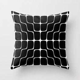 Energy Vibration 4. Frequency - Chladni - Cymatics Throw Pillow