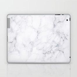 Luxury White Marble Laptop & iPad Skin