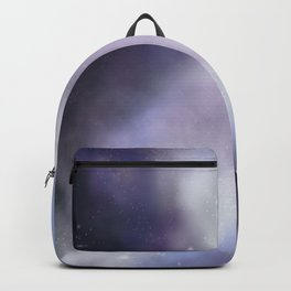 purple galaxy digital painting Backpack