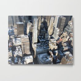 Empire Silhouette Metal Print