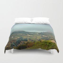 Peaks of Europe Duvet Cover