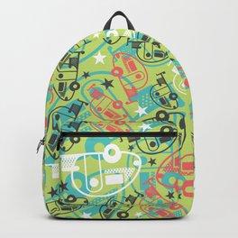 Retro Green T@b Trailers Backpack