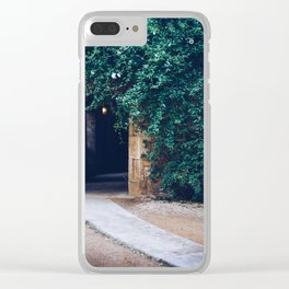 Into the Ivy, Down the Hall Clear iPhone Case