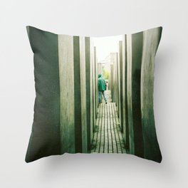 Haunt Throw Pillow