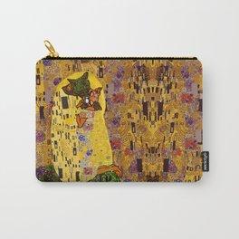 Kiss Klimt Cats Carry-All Pouch