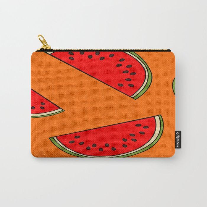 Melon fruit pattern Carry-All Pouch