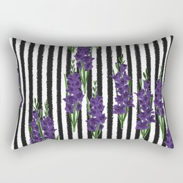 Gladiolus - Birth Month Flower for August Rectangular Pillow
