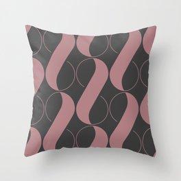 Blushy 8 Throw Pillow