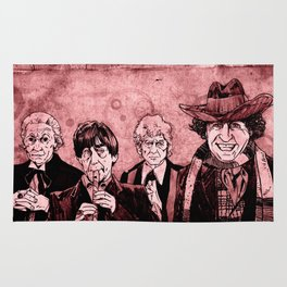 Doctor Who - One, Two, Three and Four Rug