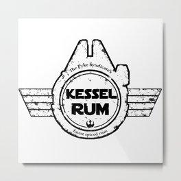 Kessel Rum Metal Print