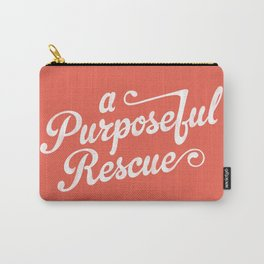A.P.R. Logo (coral) Carry-All Pouch