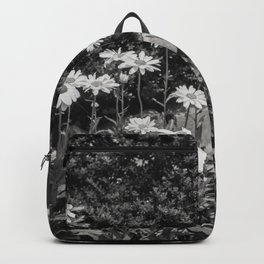 flowers in the garden, june 2018 Backpack