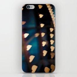 Carousel Hearts iPhone Skin