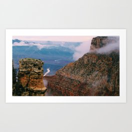 From where I stand. Art Print