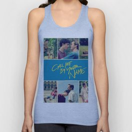 Call Me By Your Name Unisex Tank Top
