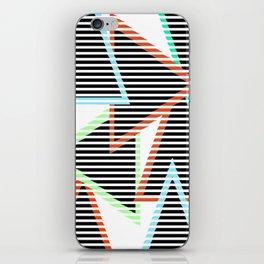 Sunset Triangles iPhone Skin