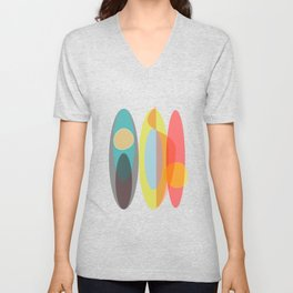 SURF  #Society6 #decor #buyArt Unisex V-Neck