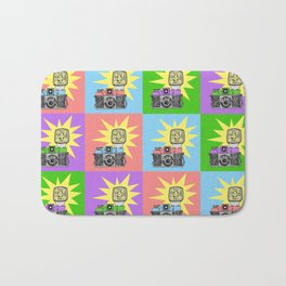 Let's warholize...and say cheese! Bath Mat