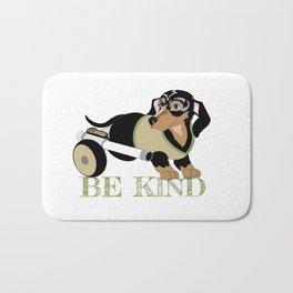 Ricky Bobby #3: Be Kind Bath Mat
