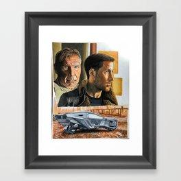 the year 2049 Framed Art Print