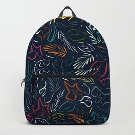 flora indigo Backpack